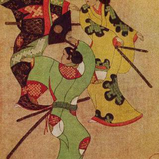 춤추는 세 명의 사무라이