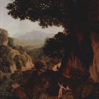 산맥 풍경