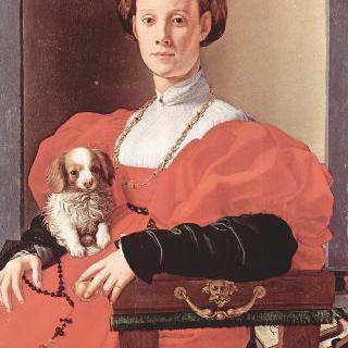 빨간 옷을 입은 여인의 초상