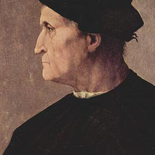 남자의 옆얼굴 초상 (프란체스코 다 카스틸리오네)