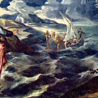 디베랴 (게네사렛) 호숫가의 그리스도