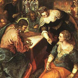 마리아와 마르다의 집을 방문한 그리스도