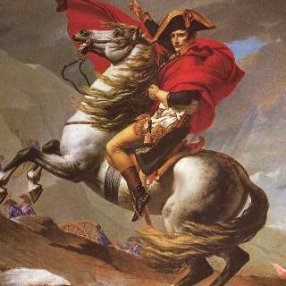 생 베르나르 고개를 넘는 나폴레옹