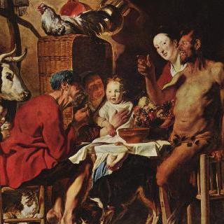 사티로스와 농부들