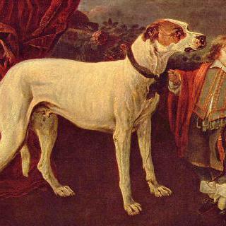 커다란 개, 난쟁이와 소년