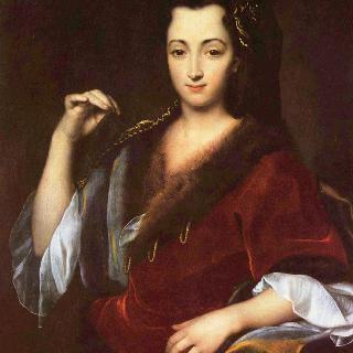 젊은 폴란드 여인의 초상 이미지