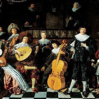 얀 민세 몰레나르 가족의 초상