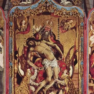 중앙 제단화 : 성삼위일체도