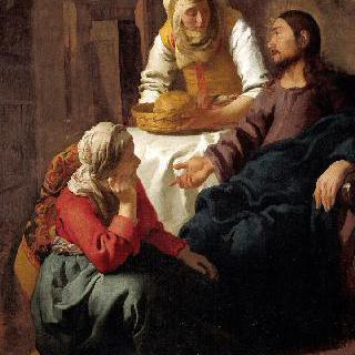 마르다와 마리아의 집에 있는 그리스도