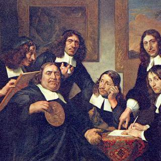 성 누가 길드의 이사들, 1675년 하를럼 시