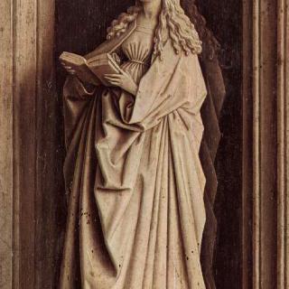 수태고지의 성모 마리아 (튀센의 수태고지)