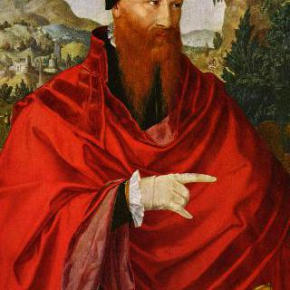 재세례파 다비트 요리스의 초상