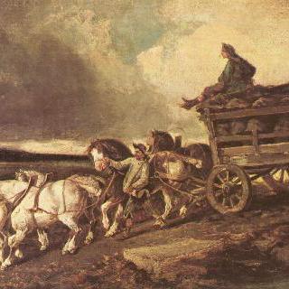 석탄 운반 마차