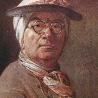 안경을 쓴 자화상