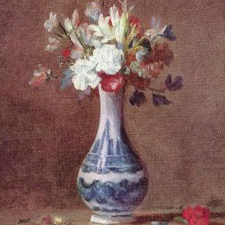 정물, 꽃병에 꽂힌 꽃