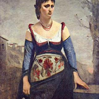 아고스티나, 이탈리아 여인
