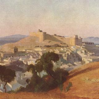 빌뇌브 레 자비뇽 풍경, 생 탕드레 요새