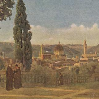 자르디노 디 보볼리에서 바라본 피렌체 풍경