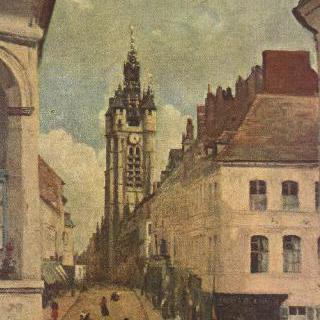 두에의 종탑 이미지