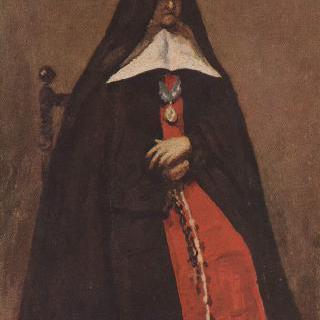 불로뉴 쉬르 메르의 수태고지 수녀원장의 초상