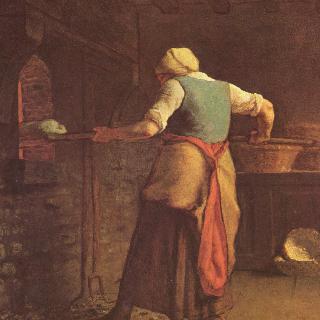 빵 굽는 여인