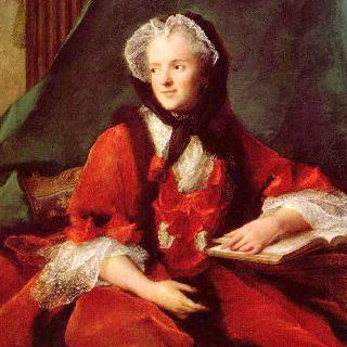 (성경을 읽고 있는) 프랑스 왕비, 마리 레슈친스카 (1703-1768)