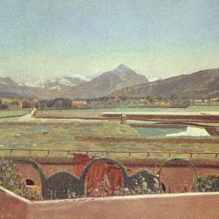 겐프 부근의 풍경