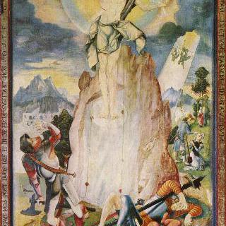 헤렌베르크 제단화, 오른쪽 바깥날개, 안쪽면 : 그리스도의 부활