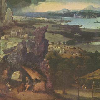 풍경 속의 성 히에로니무스