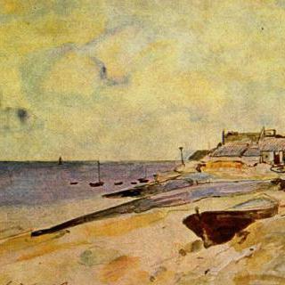 생트 아드레스의 해변