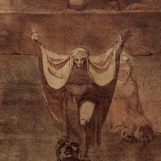 코키토스의 얼음 위의 단테와 베르길리우스