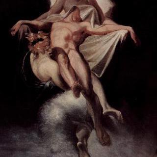 사르페돈의 시신을 리키아로 옮기는 잠의 신과 죽음의 신