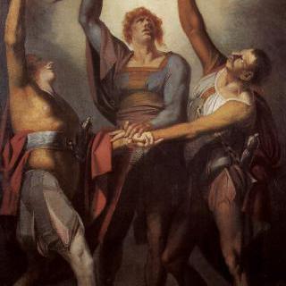 뤼틀리에서 서약을 하는 세 동맹 (뤼틀리의 서약)