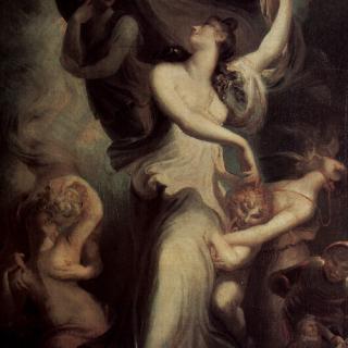 환상과 템페란티아 (절제) 앞의 에우프로시네