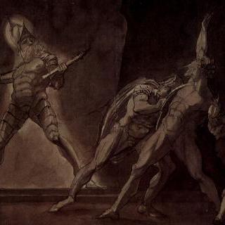 햄릿, 호레이쇼, 마르셀루스와 죽은 아버지의 유령