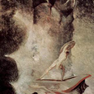 스킬라와 카리브디스 앞의 오디세우스