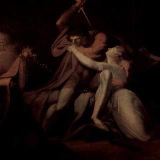 우르마의 마법에서 벨리자네를 풀어주는 파르치팔