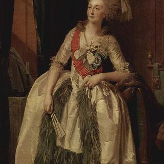 귀족 부인 살티코바의 초상
