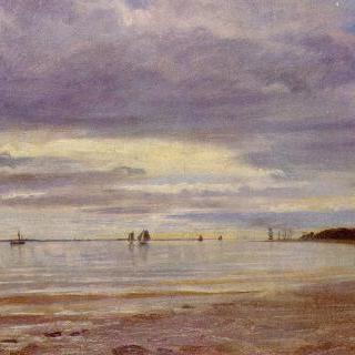 블랑케네제 부근의 해변