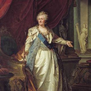 여제 예카테리나 2세의 초상