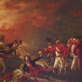 지브롤터에서 포위망을 돌파하는 영국 주둔군