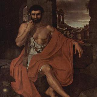 카르타고의 폐허에서 생각에 잠긴 마리우스