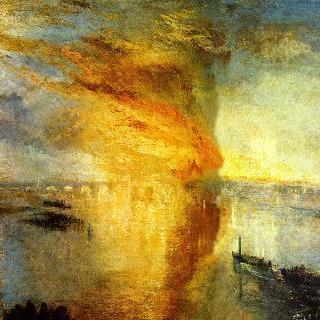 국회의사당의 화재, 1834년 10월 16일