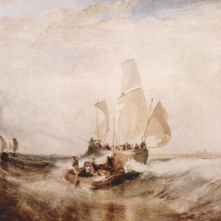 화가를 위한 순간, 배에 타는 승객들