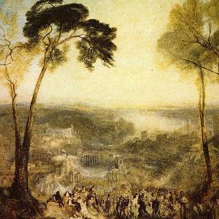 비너스의 모습으로 공중목욕탕을 찾은 프리네 : 아이스키네스의 비난을 받는 데모스테네스