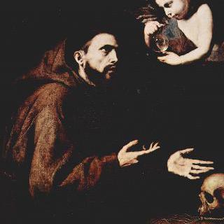 아시시의 성 프란체스코와 물병을 든 천사