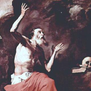 성 히에로니무스와 최후의 심판의 대천사 미가엘