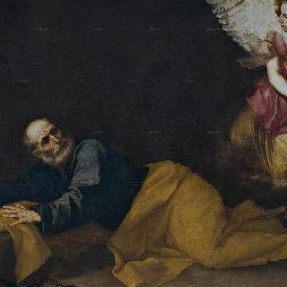 천사의 도움으로 풀려나는 성 베드로