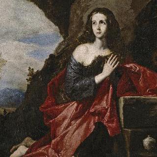 타이스의 모습을 한, 회개하는 성 마리아 막달레나 (일부조각)
