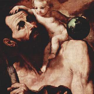 성 크리스토포로와 아기예수